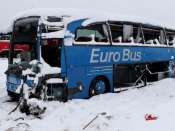 Prevrnuo se autobus kod Leskovca