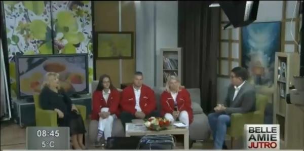 TV BELLE AMIE DR SNEŽANA RADIVOJEVIĆ  , POMOĆNIK ДИРЕКТОРA ZA MEDICINSKA PITANJA ZAVODA ZA HITNU MEDICINSKU POMOĆ NIŠ